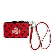 Ohio State University Lanyard  Red,Black