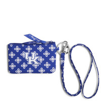 Vera Bradley University of Kentucky Zip ID Lanyard