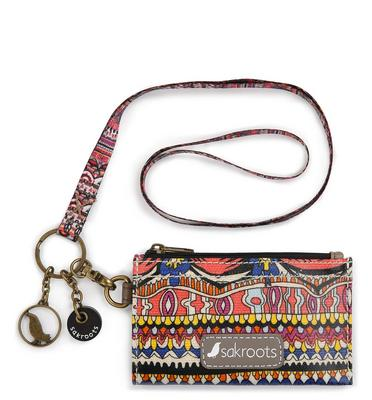 Sakroots ID Lanyard Camel One World
