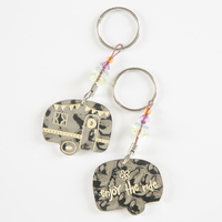 Natural Life Token Keychain Camper Enjoy Ride