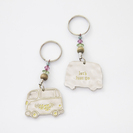 Natural Life Token Keychain Van Lets Just Go