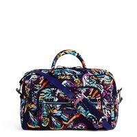 Vera Bradley Iconic Compact Weekender Butterfly Flutter