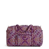 Vera Bradley Iconic Large Duffel Dream Tapestry