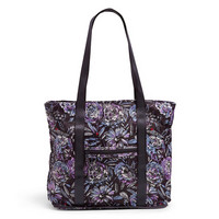 Packable Tote Lavender Bouquet