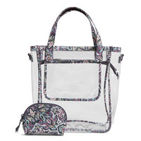 Vera Bradley Clearly Colorful Stadium Tote Set