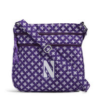 Vera Bradley Northwestern University Triple Zip Hipster