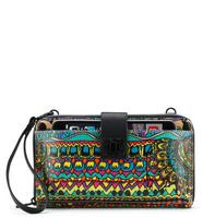 Sakroots Large Smartphone Crossbody Radiant One World