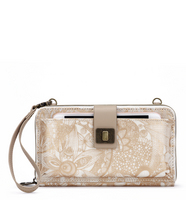 Sakroots Large Smartphone Crossbody Rose Gold Spirit Desert