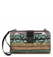 Sakroots Large Smartphone Crossbody Sherbert One World