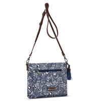 Sakroots Camden Small Crossbody Navy Spirit Desert