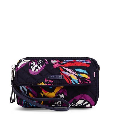 Vera Bradley Iconic RFID All in One Crossbody Butterfly Flutter