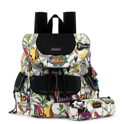 Sakroots Flap Backpack