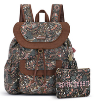Sakroots Flap Backpack Sienna Spirit Desert