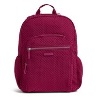 Vera Bradley Iconic Campus Backpack Passion Pink