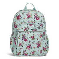 Vera Bradley Iconic Campus Backpack Water Bouquet