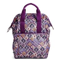 Vera Bradley Lighten Up Frame Backpack Dream Diamonds