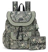 SakrootsFlap Backpack Sage Spirit Desert
