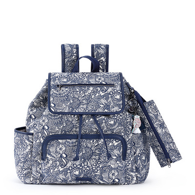 Sakroots Fleetwood Backpack Navy Spirit Desert