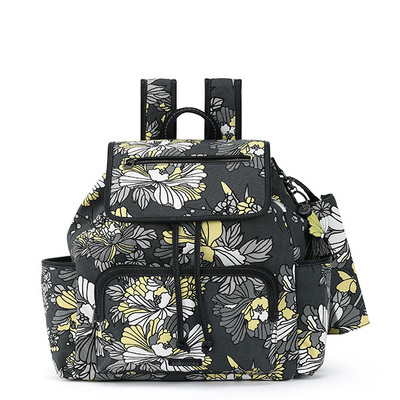 Sakroots Fleetwood Backpack Slate Flower Blossoms