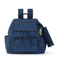 If solids are more your style, opt for the new Fleetwood Backpack in Poly Twill