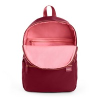 Poppin Backpack, Wine  Blush