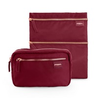 Fanny Pack and Zip Zip Zip Pouch, Wine
