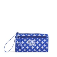 Vera Bradley University of Kentucky Front Zip Wristlet