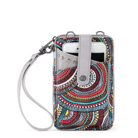 The Smartphone Wristlet is a musthave for any girl on the go. Wear it as a crossbody or wristlet