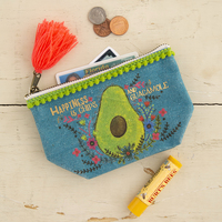 Mini Canvas Pouch Chips & Guacamole