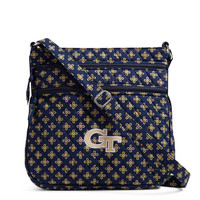 Vera Bradley Georgia Tech Triple Zip Hipster