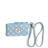 Vera Bradley Zip ID Lanyard University of North Carolina