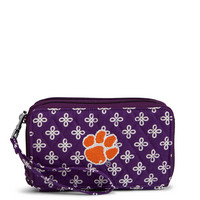Vera Bradley RFID All in One Crossbody Clemson University