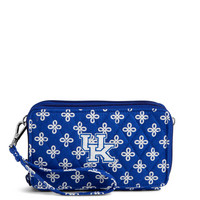 Vera Bradley RFID All in One Crossbody University of Kentucky