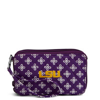 Vera Bradley RFID All in One Crossbody Louisiana State University