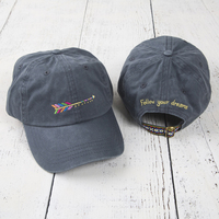 Natural Life Hangout Hat Arrow Navy
