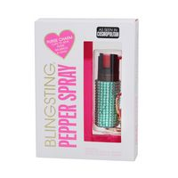 Blingsting Pepper Spray  Mint Rhinestone