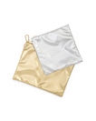 BANDO LARGE CARRYALL DUO, METALLIC GOLD  SILVER