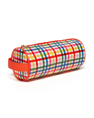 BANDO GET IT TOGETHER CYLINDER POUCH, BLOCK PARTY