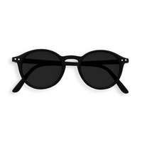 Sunglasses #D Black Grey Lenses 0.00
