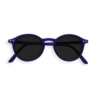 Sunglasses #D Navy Blue Grey Lenses 0.00