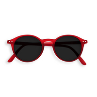 Sunglasses #D Red Crystal Grey Lenses 0.00