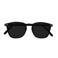 Sunglasses #E Black Grey Lenses 0.00