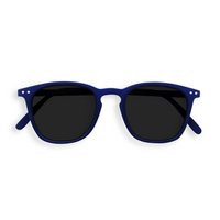 Sunglasses #E Navy Blue Grey Lenses 0.00