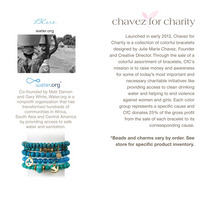 Chavez for Charity Water.org Bracelet
