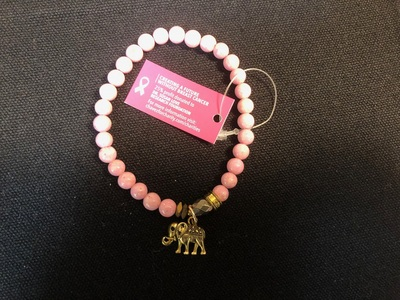 Chavez for Charity Game On Collection Bracelet Dr. Susan Love Research Foundation