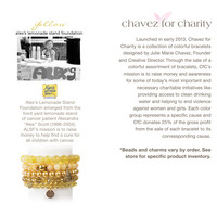 Chavez for Charity  Alexs Lemonade Stand