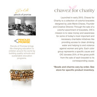 Chavez for Charity Pencils of Promise