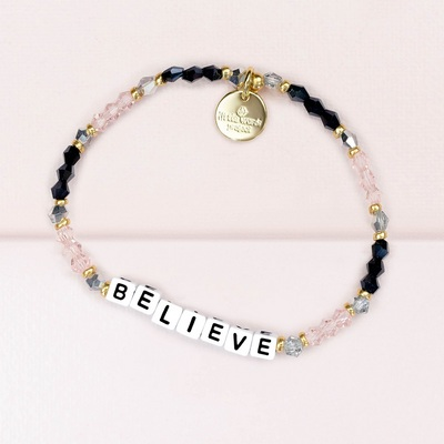 Crystal White Believe Bracelet