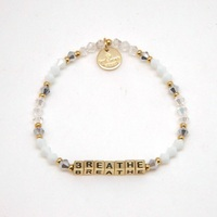 Crystal Gold Breathe Bracelet
