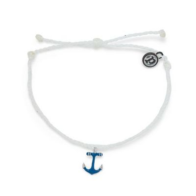 Anchors Away Silver  Indigo